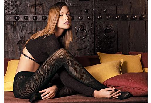 красивые девушки фото колготках чулках #13