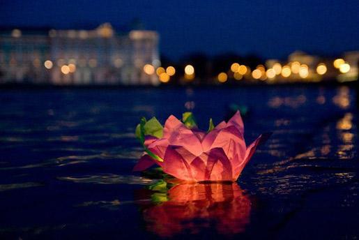 В Ярославле планируется запуск водных фонариков.