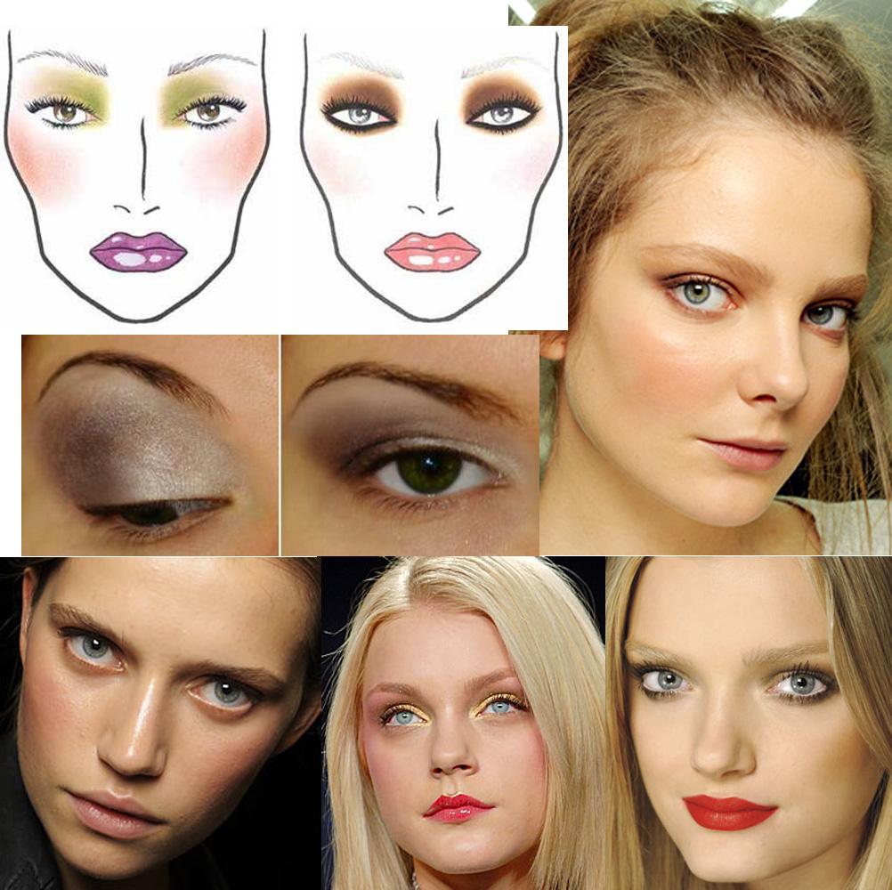 Как сделать макияж для опущенных век