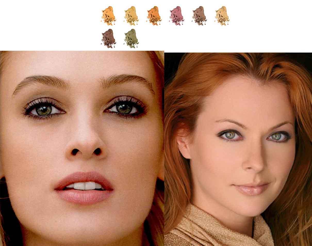 Как правильно подобрать цвет волос под цвет лица